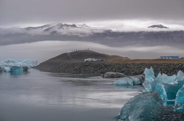 Jökulsárlon glacial lagoon