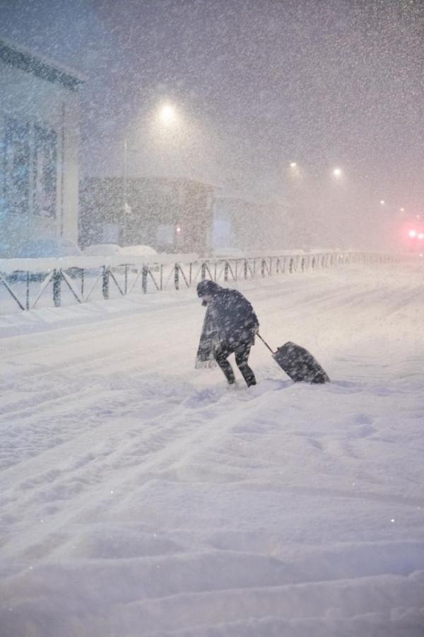 Record snowfall, Reykjavík 26.2.17