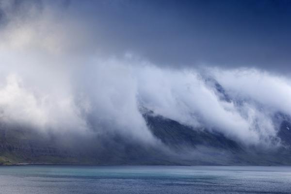 Strandir, vestfirðir, þoka