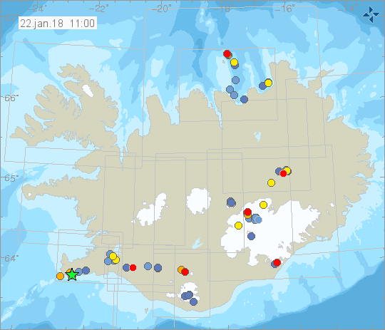 Earthquakes 22.1.18