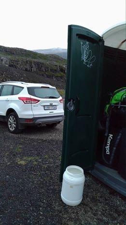 Toilet as a storage locker