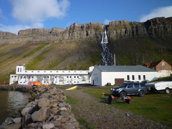 Djúpavíkurfoss, Eiðrofi