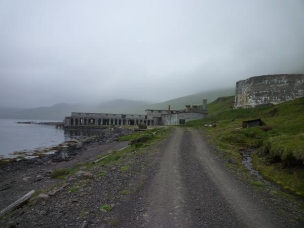 Ingólfsfjörður, Strandir, síldarverksmiðja