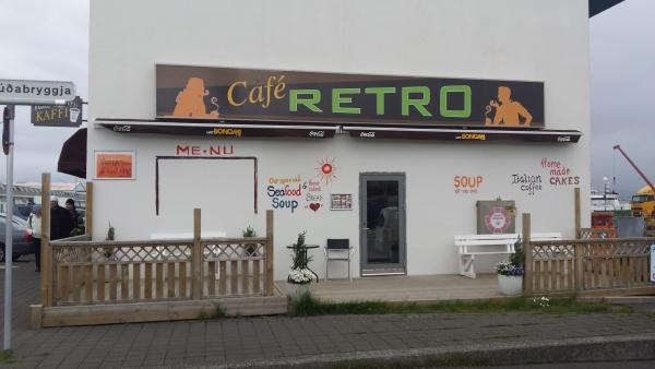 Retró, café, Kaffi Retró