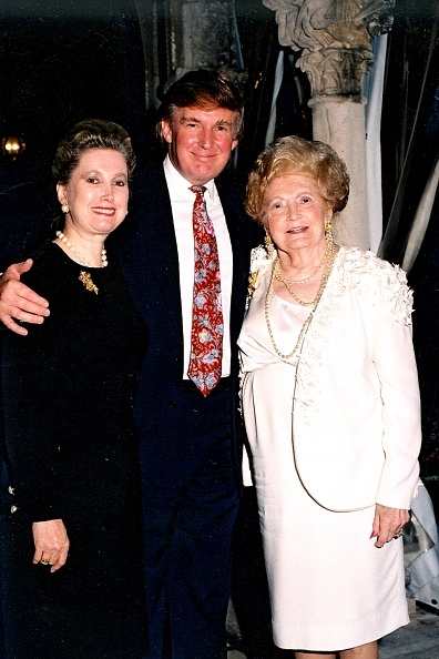 Trump, mother Mary Anne MacLeod, sister Elizabeth Trump
