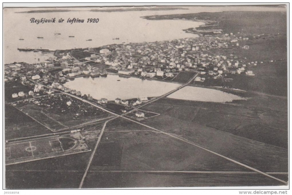 Reykjavík in 1920