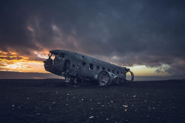 DC3 wreck, Sólheimasandur