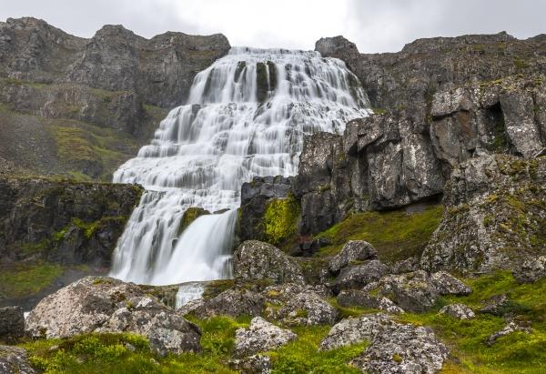 Dynjandi, foss, Vestfirðir