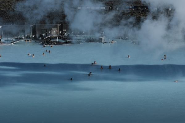 Blue Lagoon, bláa lónið