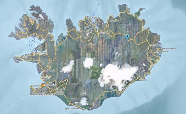 Víðidalur, Möðrudalsöræfi