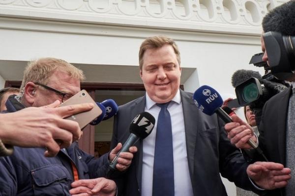 Sigmundur Davíð Gunnlaugsson, Bessastaðir