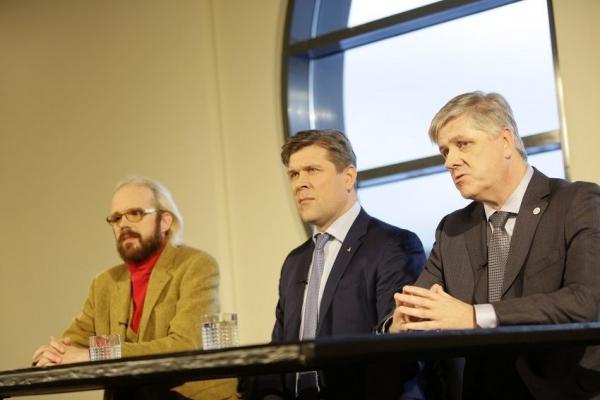 Bjarni Benediktsson, Óttarr Proppé, Benedikt Jóhannesson