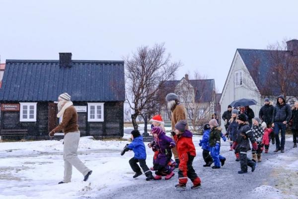 Árbæjarsafn Christmas celebration