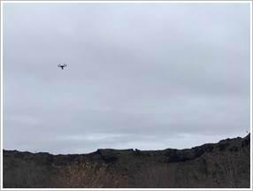 Drone over Dimmuborgir, small