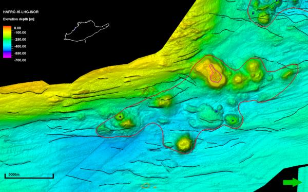 Nafir volcanic system, Grímsey