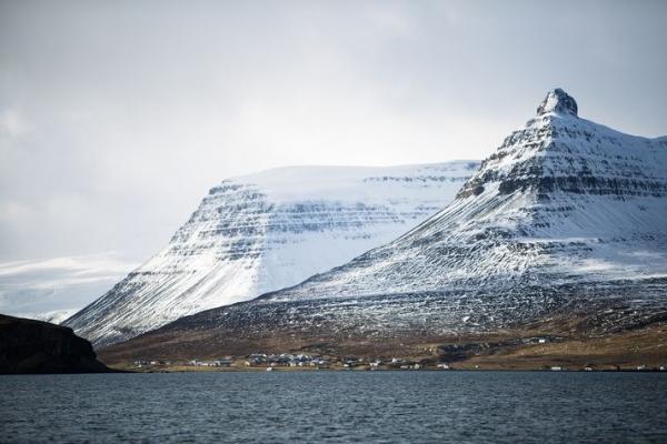 Súðavík, Ísafjarðardjúp, Súðavíkurhlíð, Westfjords
