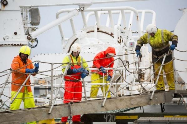 Fishermen, workers