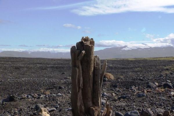Drumbabót, Katla volcano, glacial flood