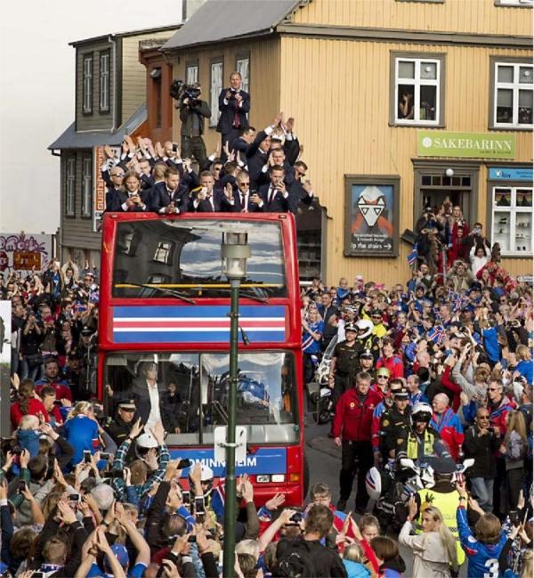 Heimkoma, landsliðið, Euro 2016