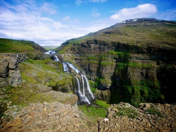 Glymur waterfall, Hvalfjörður
