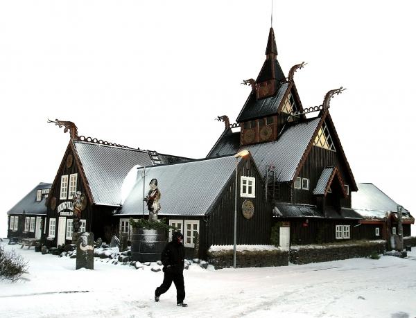 Jólahlaðborð, veitingastaður, Fjörukráin
