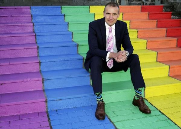 Guðni Th. Jóhannesson, Steps of MR Gay Pride 2016