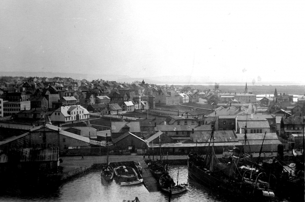 Old harbour 1926-8