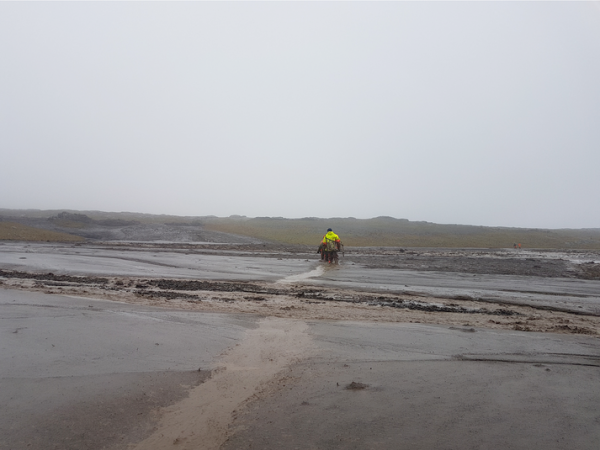Flooding in South East Iceland
