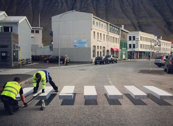 3D Crosswalk