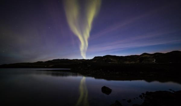 Aurora, Kleifarvatn 27.3.17