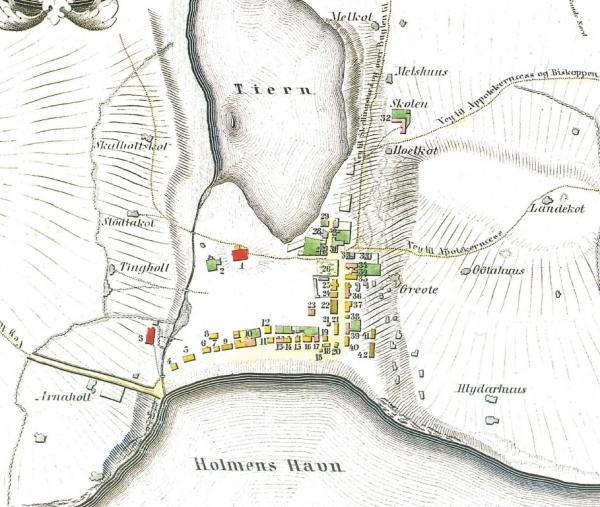 Reykjavík in 1801
