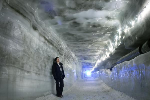 Ice cave, Langjökull