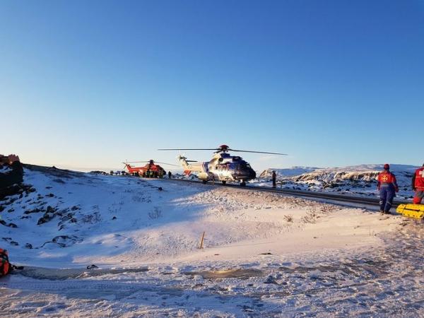 Kirkjubæjarklaustur bus accident