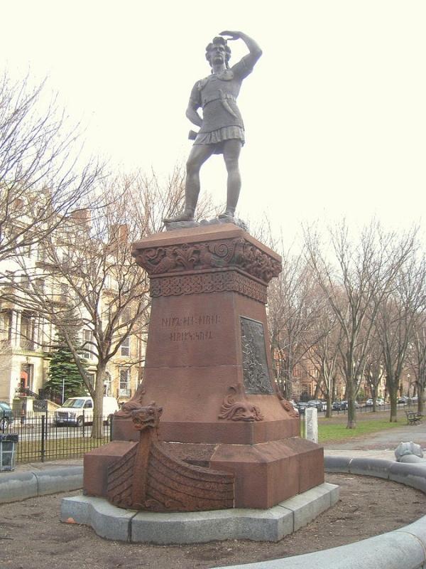 Leifur Eiríksson í Boston