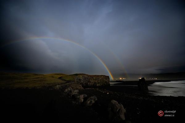 Amazing Aurora And A Rare Double Lunar Rainbow Over S Iceland - 17 breathtaking photos of rare double rainbows