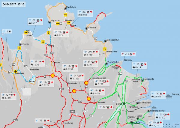 Road Conditions, NE, 4.4.17
