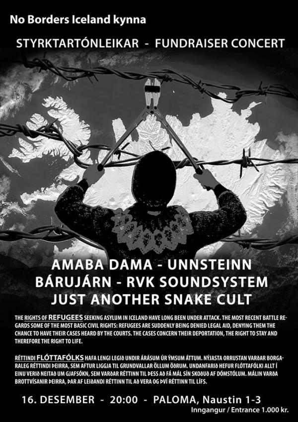 refugees benefit concert
