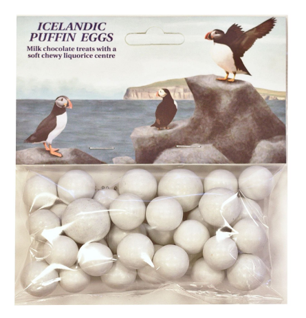 puffin eggs candy