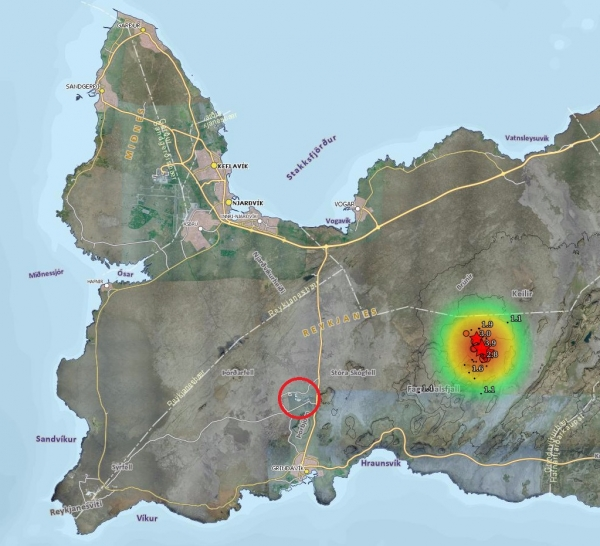 Reykjanes quakes
