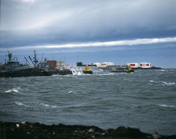 Reykjavík 1977, harbor