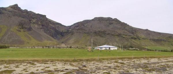 Hof, village Öræfi