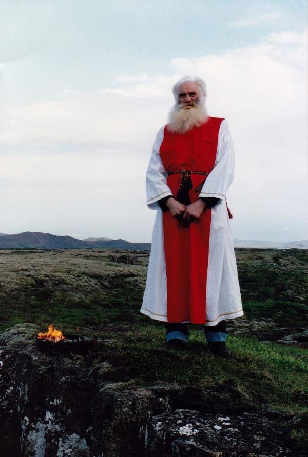 Sveinbjorn Beinteinsson 1991, Allsherjargoði, Ásatrúarfélagið