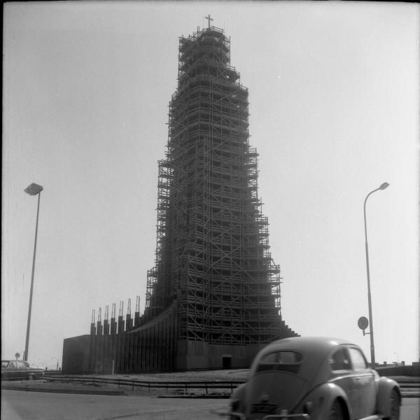 Hallgrímskirkja Church 1969