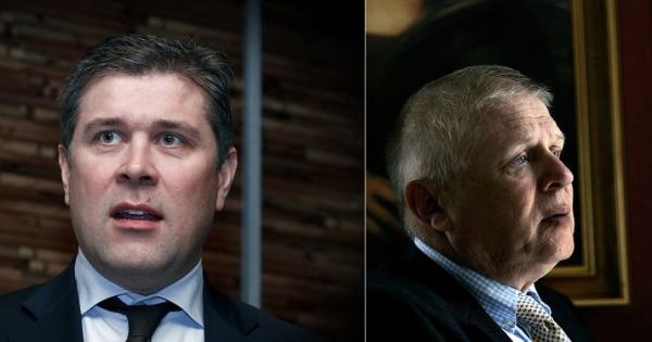 Bjarni Benediktsson, Benedikt Sveinsson