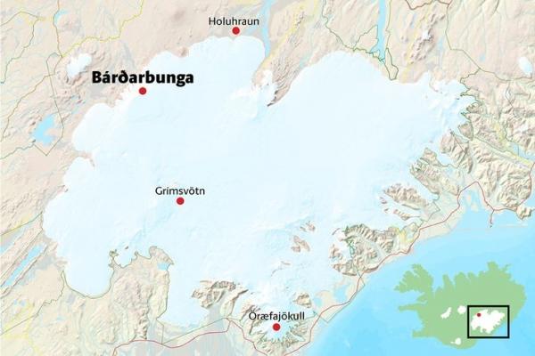 volcanoes of Vatnajökull - Bárðarbunga