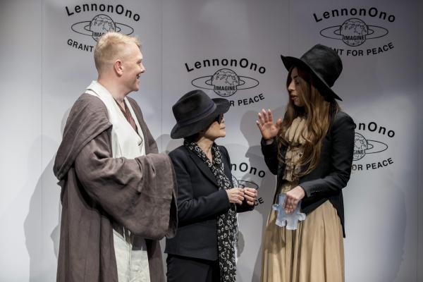 Jón Gnarr, Yoko Ono, Lady Gaga