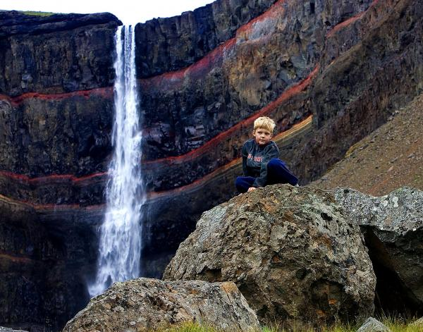 Hengifoss, waterfall, austurland