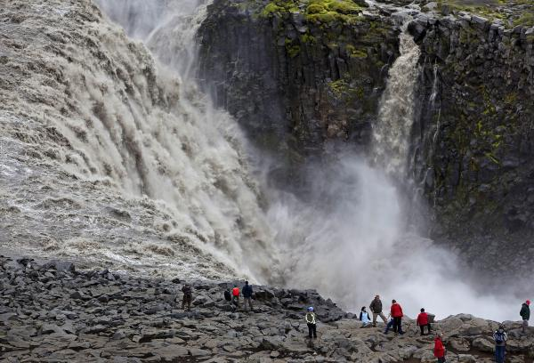 Dettifoss, waterfall