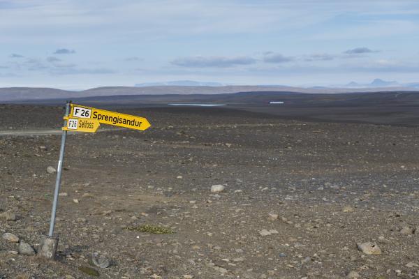 Sprengisandur, sprengisandsleið, highlands