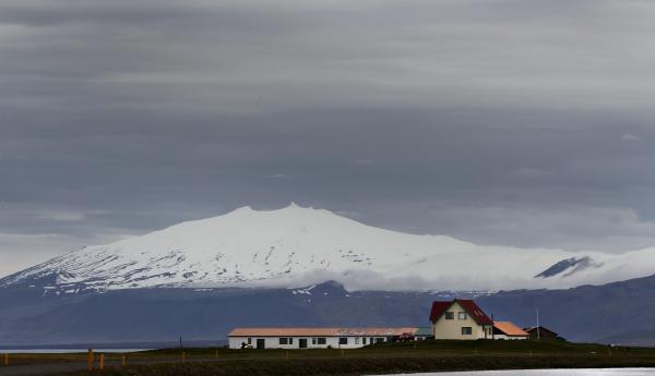 Snæfellsjökull, snæfellsnes, vesturland